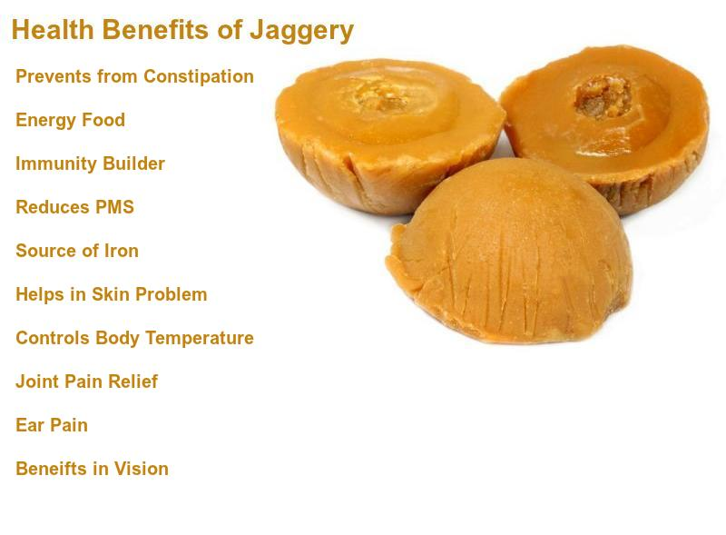 Health Benefits of Jaggery