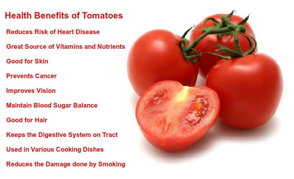 Health Benefits of Tomatoes