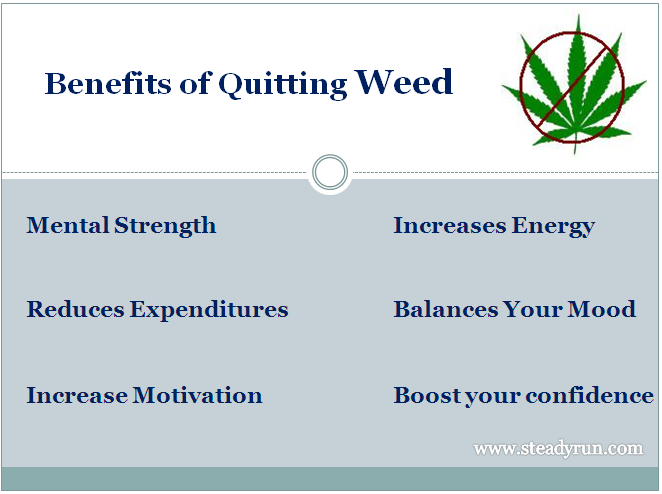 Benefits of Quitting Weed