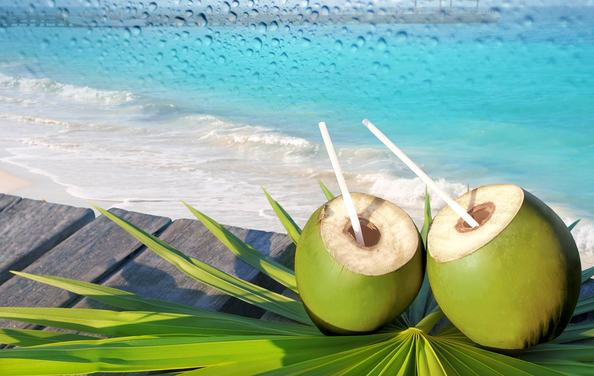 Health Benefits of Coconut Water Images, Photos, Pics, Picture