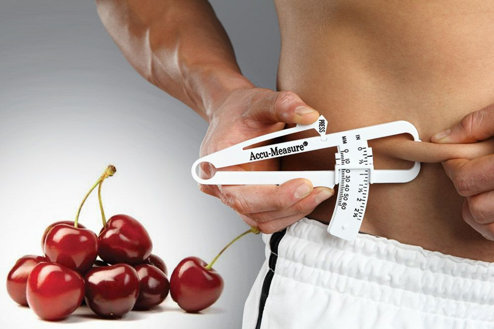 Eating Cherries can help to Reduce Body Fat and Weight Loss