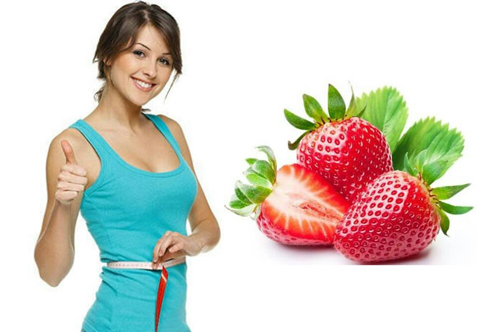 Eating Strawberries can make you Loss Weight