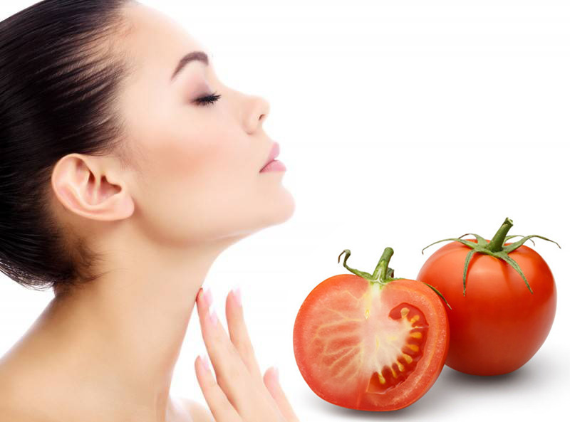 Tomatoes are Good for Glowing Skin and Fairness