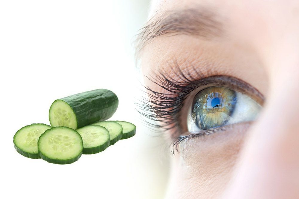Why Cucumbers are good for your Eyes and Better Vision