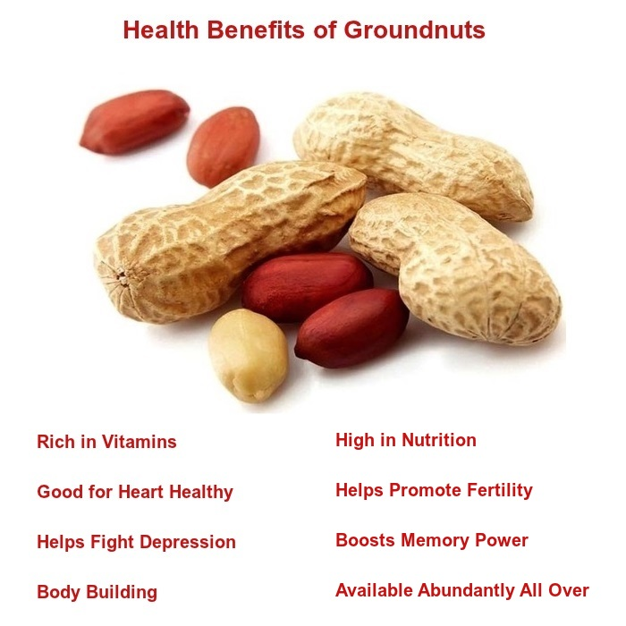 health benefits of groundnuts peanuts images