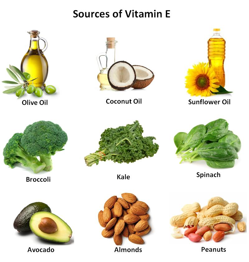 foods rich in vitamin e, Health Benefits of Vitamin E