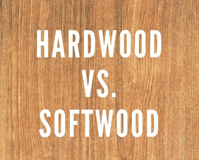 difference between softwood and hardwood