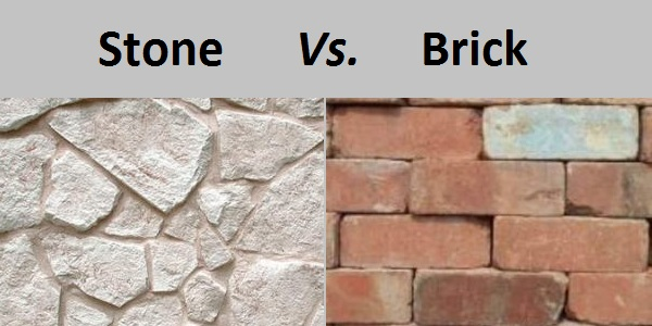 Difference between Stone and Brick
