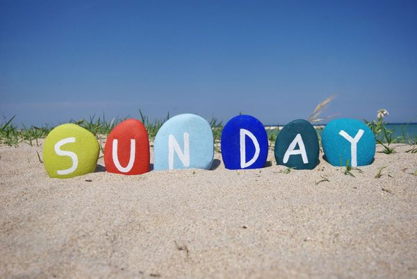 Why Sunday is a Holiday