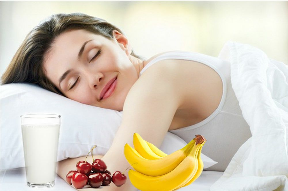 Foods and Drinks that help you sleep better