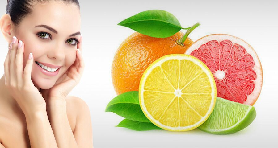 Eat Citrus Fruits for Glowing Skin