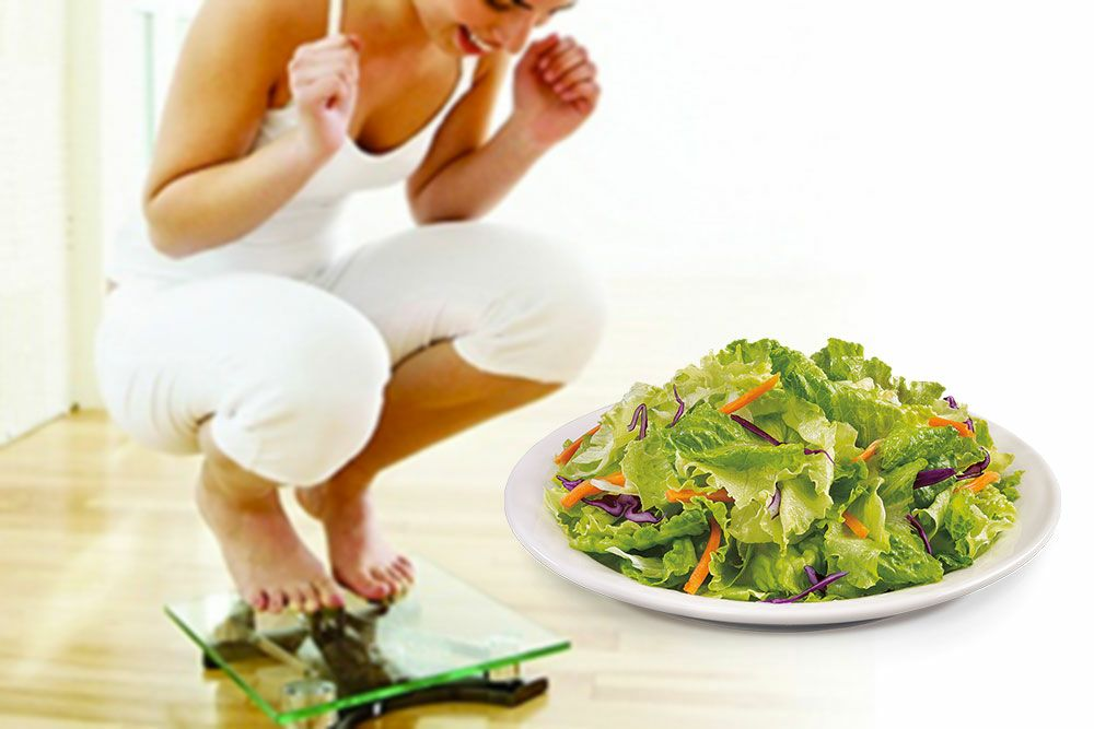 Why eating Salad is good for weight loss
