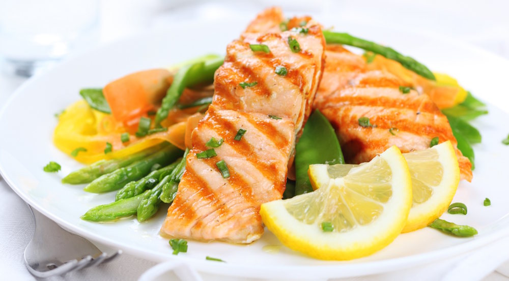 Salmon fish a super food for Brain and Health