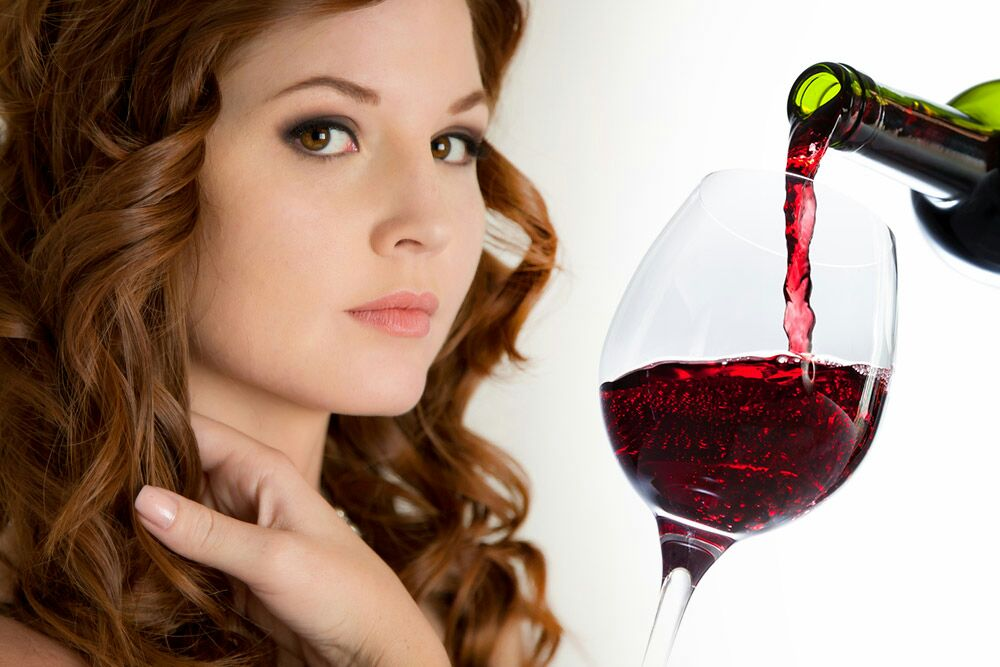 Benefits of Red Wine for Skin, Hair and Health