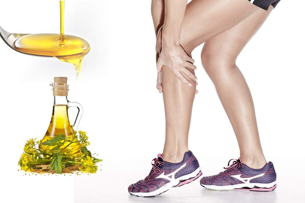Mustard oil Cure Muscle Cramps